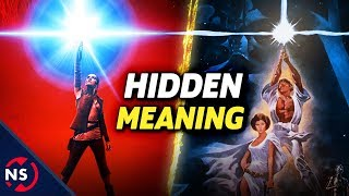 The Hidden Meaning in Star Wars: THE LAST JEDI Teaser Poster Explained! || NerdSync