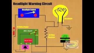 How to Connect Headlight Warning Relay