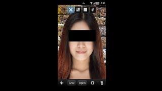 Photo Pixelizer App for Nokia Symbian and Meego Demo