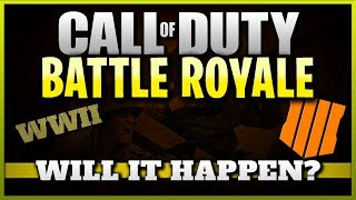 Battle Royale Mode Leaked in CoD WW2! (Will we have BR in Black Ops 4?)