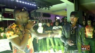 CLASH DEBORDO LEEKUNFA ET DJ MIX AU PINK CLUB SUITE ET FIN