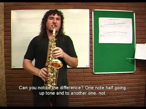 LESSON SAX 02 EMBOUCHURE TUNING and HARMÔNICS by IVAN MEYER