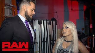 Mike Rome apologizes to Alexa Bliss: Raw Exclusive, July 16, 2018