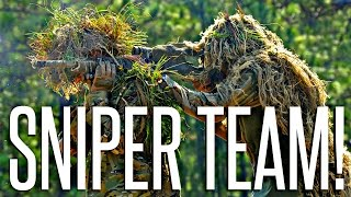 DOUBLE SNIPER TEAM! - PlayerUnknown