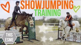 Showjumping training with Scarlette | This Esme