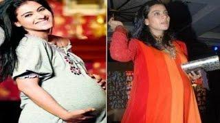बेबी बंप के साथ नज़र आई काजोल, फोटोज़  VIRAL | Kajol Spotted With Baby Bump, Pregnancy Uncovered