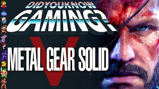 Metal Gear Solid 5 - Did You Know Gaming? Feat. Caddicarus