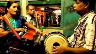 Train Singer  ll Krishnagar Local Train II Singer II 2016 II GOD TALENT