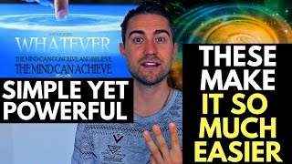 3 Secrets for the Law of Attraction Process (Powerful)