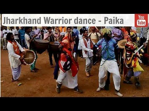 Jharkhand Warrior dance - Paika