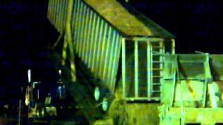 Wood Chip Truck Unloading - GP Port Hudson, LA.