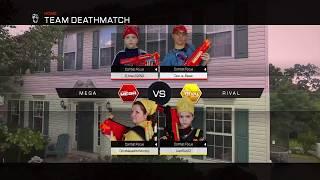 Nerf War:  Mega vs Rival