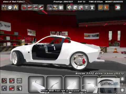 Street legal racing redline 350z in the making