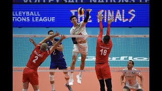 Combination play | France| France vs Serbia VNL semifinal decider |