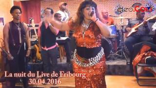 Jocelyne Bizar live performance  à Fribourg le 30.04.2016
