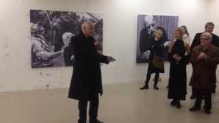 Speech Luc Tuymans at The Thirteen Masters show by Charlotte De Cock