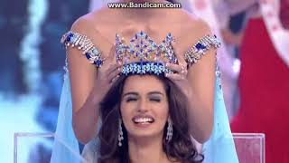 Miss World Manushi Chillar 2017 Beautiful Crowning Moment