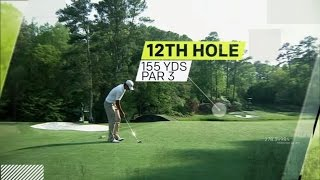 Trying To Unravel The 12th Hole At The Masters | Sport Science | The Masters Golf Tournament