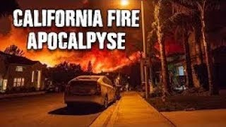 Something Strange going on California Wildfires Deliberate or Manmade Accident ? November 11 2018