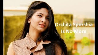 Orchita Sporshia Is No More | Facebook Live | Sporshia | Salman | Safa | Jovan |