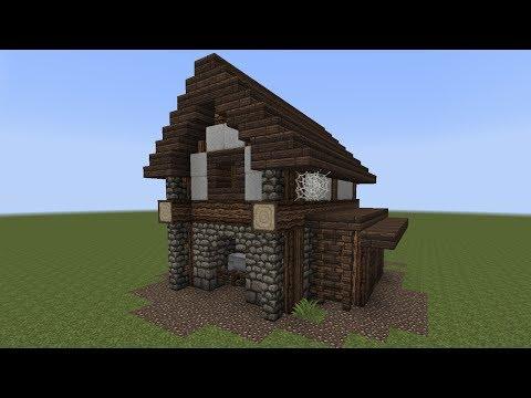 Minecraft Tutorial Einen Kleinen Stall Bauen PlayItHub Largest - Minecraft altmodische hauser bauen