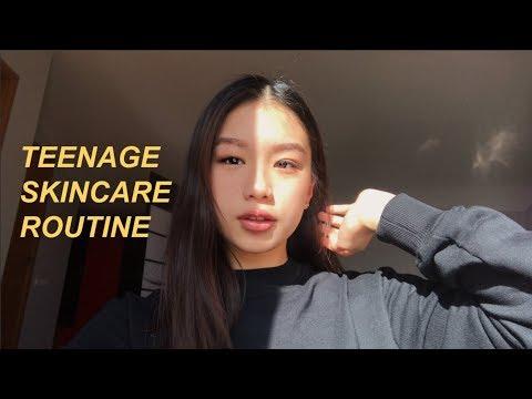 Xxx Mp4 TEENAGE SKINCARE ROUTINE Korean Beauty 3gp Sex