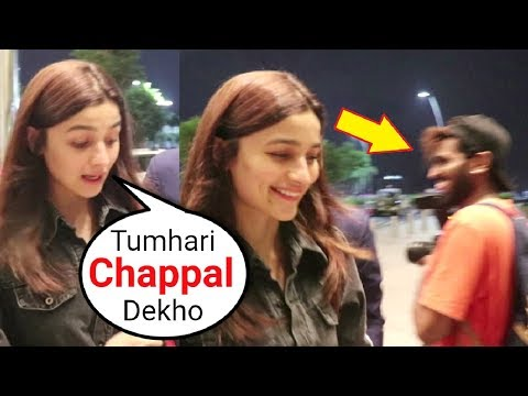 Xxx Mp4 Alia Bhatt Sweet Behaviour With A Reporter At Mumbai Airport 3gp Sex