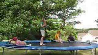 Trampoline falls and rize