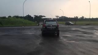 toyota avanza drift bsd indonesia