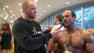 Steve Benthin Heavyweightcup 2010 Germany 1st Place Posing Interview