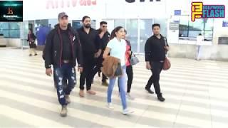 Sapna Choudhary Spotted At Mumbai Domestic Airport