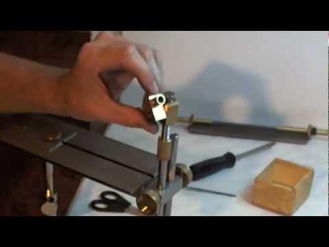 Точилка для ножей своими руками шарнир