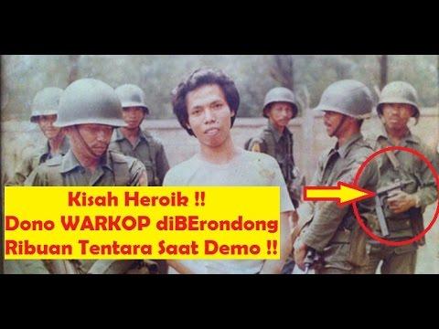 Detik2 Nyata [Dono WARKOP] DKI Hadang Ribuan Tentara Militer Indonesia Bukan Sedang LAtihan Militer