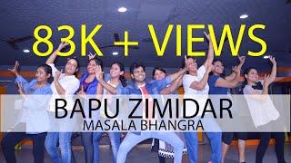 BAPU ZIMIDAR II MASALA BHANGRA II DANCE II FITNESS II PRIYANK DHAKAR