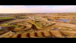 Svebølle motocross bane fra luften