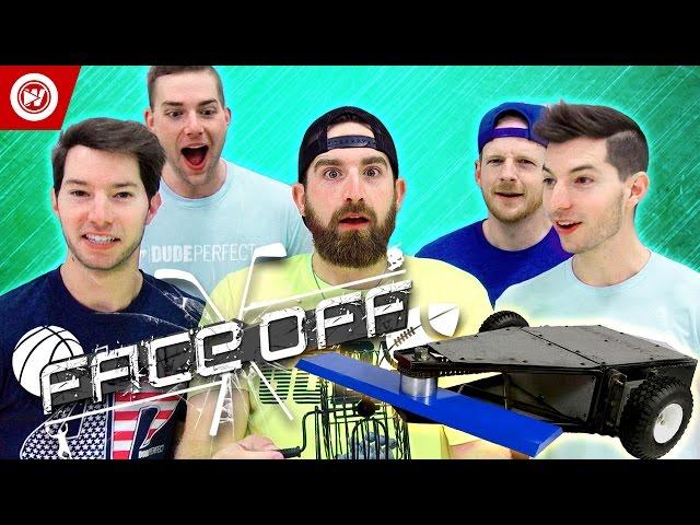 DUDE PERFECT Battlebots Edition | FACEOFF