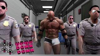 Watch Goldberg's epic WWE 2K17 entrance