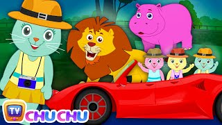 Three Little Kittens Went To The Zoo (SINGLE) | Nursery Rhymes by Cutians | ChuChu TV Kids Songs