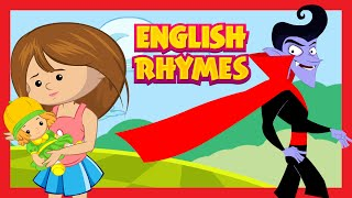 English Rhymes | Hokey Pokey - Party With Dracula and More Fun Rhymes For Kids