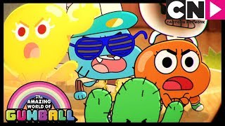 Gumball | Books Are The Enemy | The Blame  | Cartoon Network