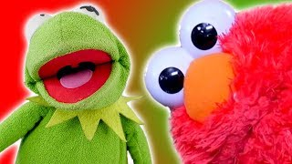 Elmo And Kermit The Frog's Funniest Moments 2017!