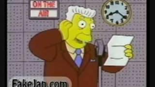 Simpsons' Brady Bunch Variety Hour Spoof
