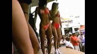 Bikini Contest at So Cal Big VW Show in 1989 with Heather Kennedy