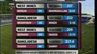 BAN VS WI (2nd Test) Win © Mishu™