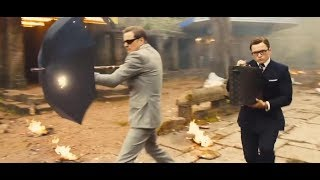 Kingsman The Golden Circle 2017 Action Scene hindi Audio 720p