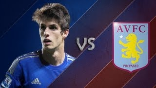 Lucas Piazon vs Aston Villa