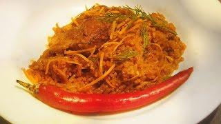 """""""Russian Winter Plov"""" - Spiced Pork and Rice Pilaf Recipe /Uzbeki"""