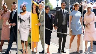 Royal Wedding 2018 ► Celebrity Arrivals | Full Video | Celebrity Dresses