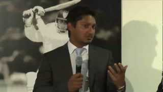 Kumar Sangakkara at the LBW Trust Annual Dinner 2013, Pt 1/2
