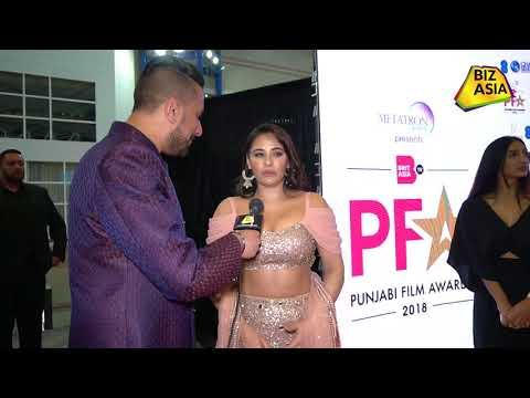 Xxx Mp4 BizAsia Meets British Actress Mandy Takhar At The Punjabi Film Awards 2018 3gp Sex